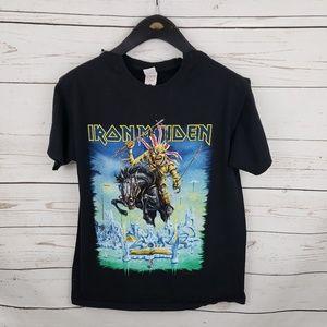 Iron Maiden 2014 England Tour Merch tshirt